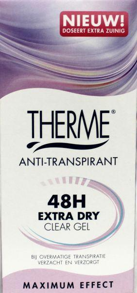 Therme Anti Transpirant Woman Clear Gel Max Protection