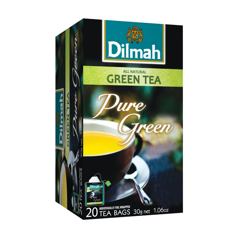 Dilmah All Natural Green Tea Pure