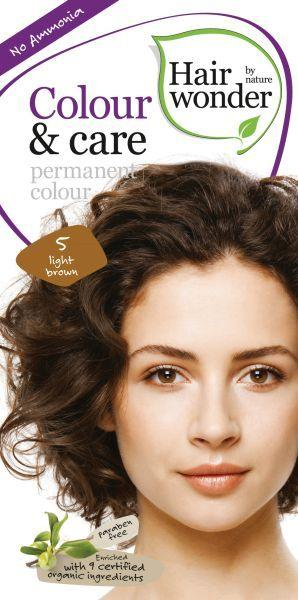 Hairwonder Colour And Care Light Brown 5