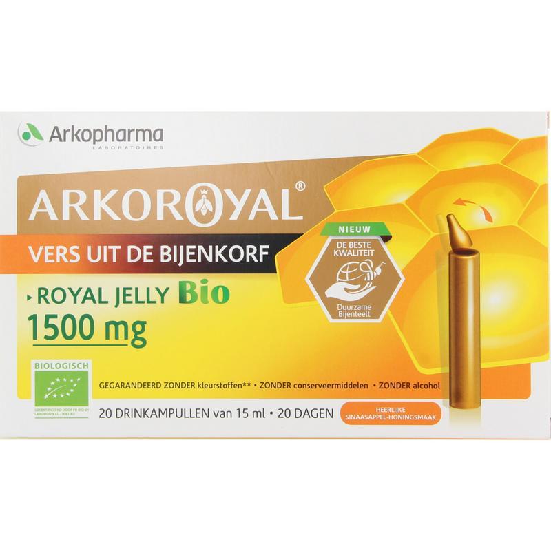 Afbeelding van ArkoRoyal Royal Jelly 1500mg Ampullen 20st