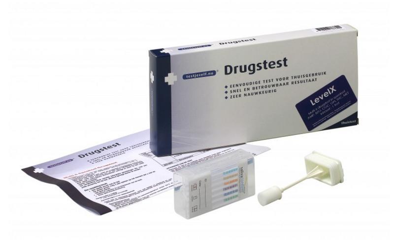 Testjezelf Speeksel Drugstest Levelx Stuk