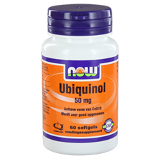 Now Co-Q10 Ubiquinol 50 Mg