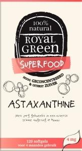 Royal Green Astaxanthine - 120 softgels