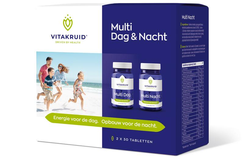 Vitakruid Multi Dag & Nacht 2 X 30 Tabletten