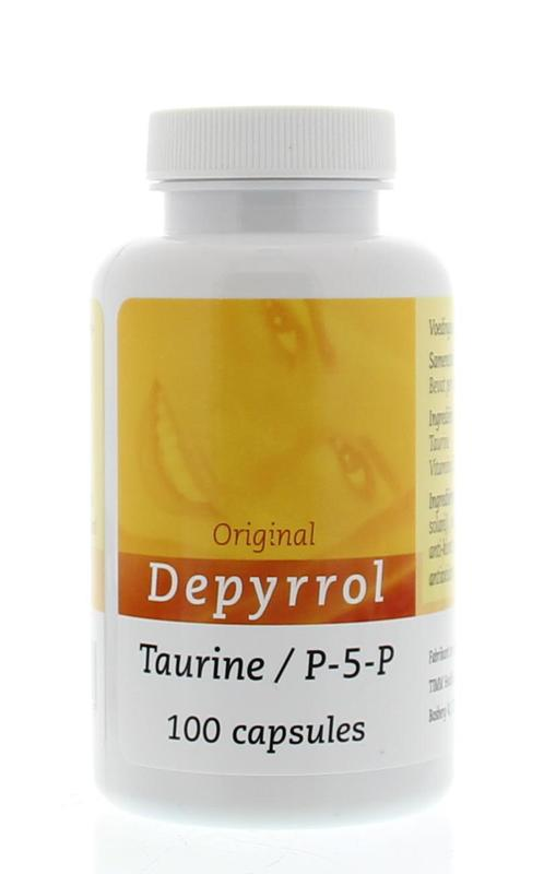 Afbeelding van Depyrrol Taurine P5p 5 Mg 100ca