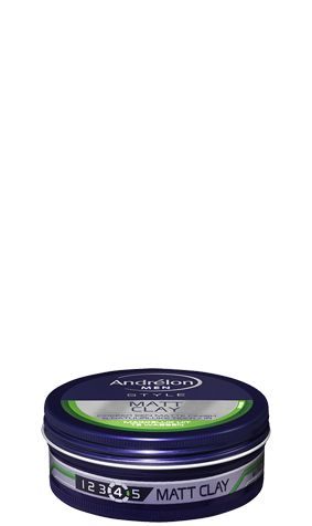 Andrelon For Men Matt Clay Wax 75ml