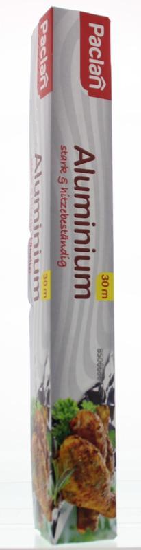 Paclan Aluminiumfolie 30cm 30mtr