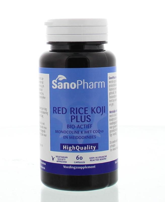 Sanopharm Red Rice Koji Plus High Quality