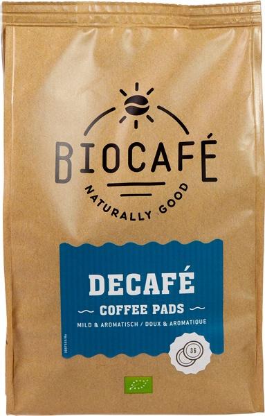 Koffiepads caffeinevrij