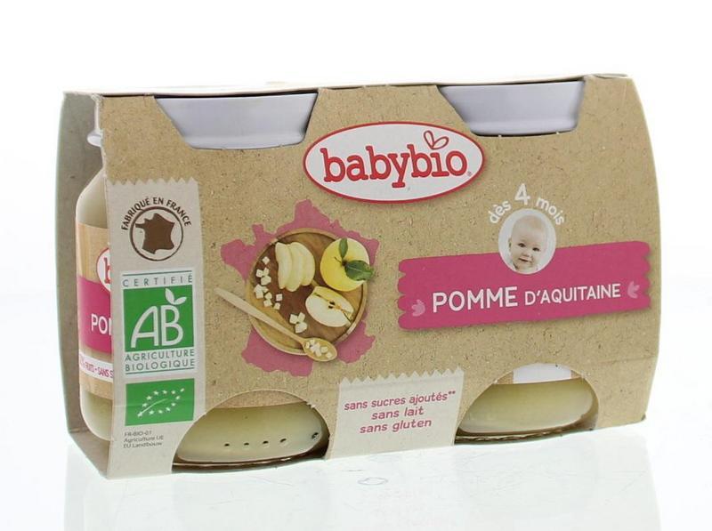 Babybio Dessert Appel 2x130g