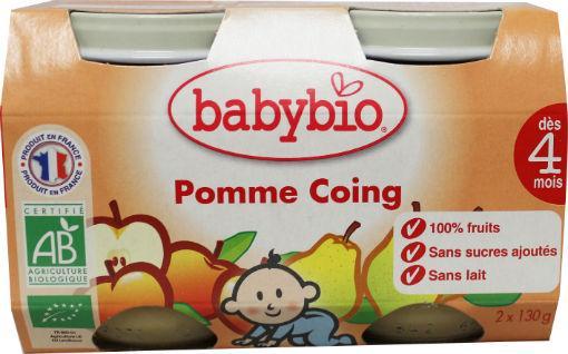 Babybio Dessert Appel Peer 2x130g