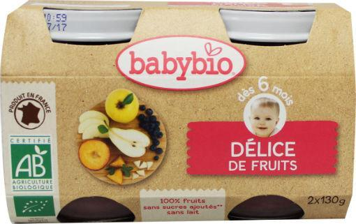 Babybio Dessert Fruitlekkernij 2x130g