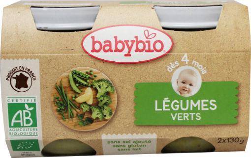 Babybio Groenten Groene Groenten 2x130g