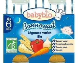 Babybio Gem Groenten Tarwe 2x200g