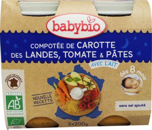 Babybio Groenten Pasta 2x200g