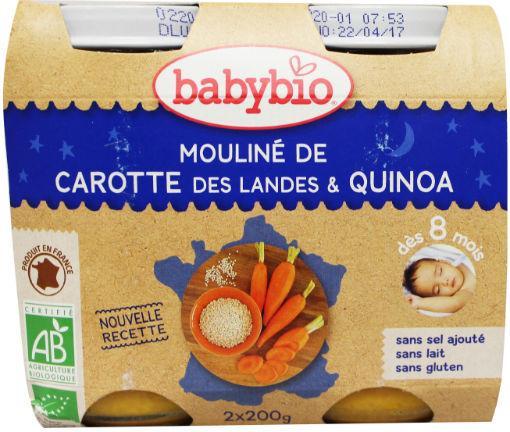 Babybio Groenten Quinoa 2x200g
