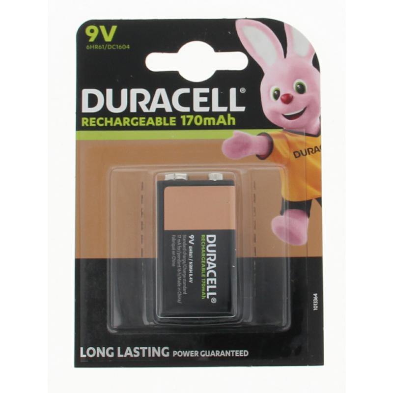 Duracell Batterij Rechargeable 9volt Hr9v Stuk