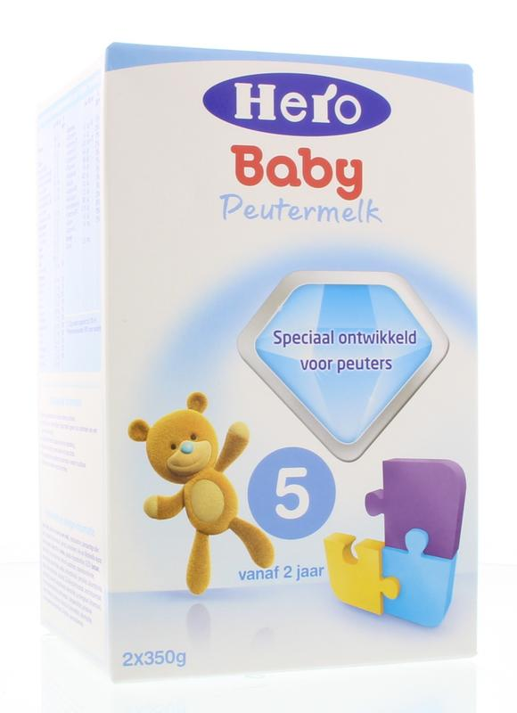 Hero Baby 5 Peutermelk Vanaf 2 Jaar vanaf 24 mnd 700gram