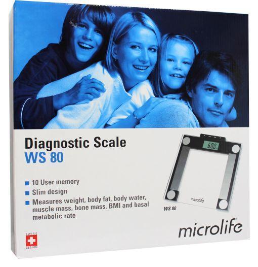 Microlife Weegschaal Bmi Ws80-n Stuk