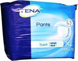 Tena Pants Super XLarge 120-160cm Stuks 12 (793712)