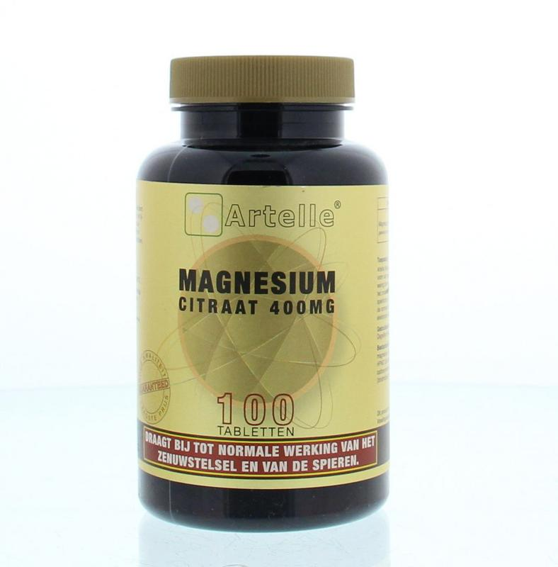 Artelle Magnesium Citraat Elementair