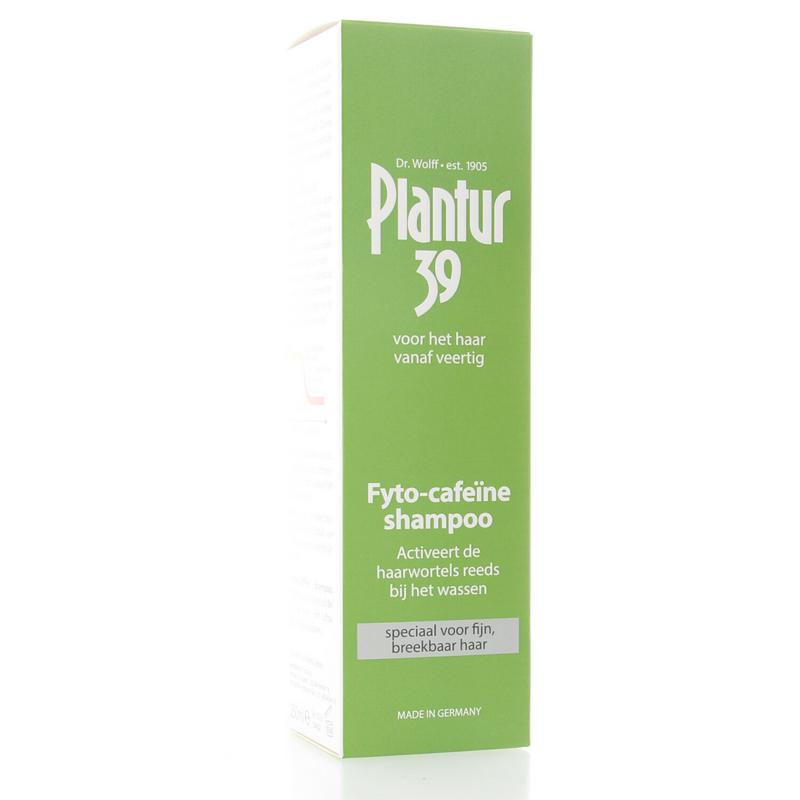Plantur 39 Caffeine Shampoo Fijn Haar 250ml