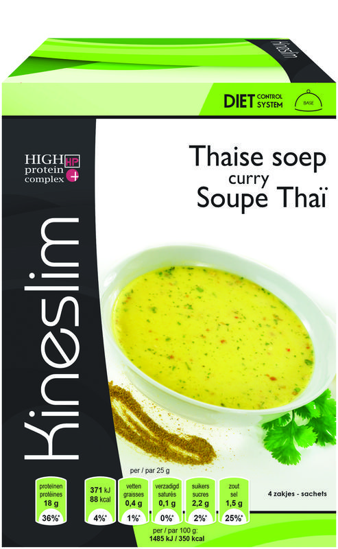 Kineslim Soep Thaise Curry