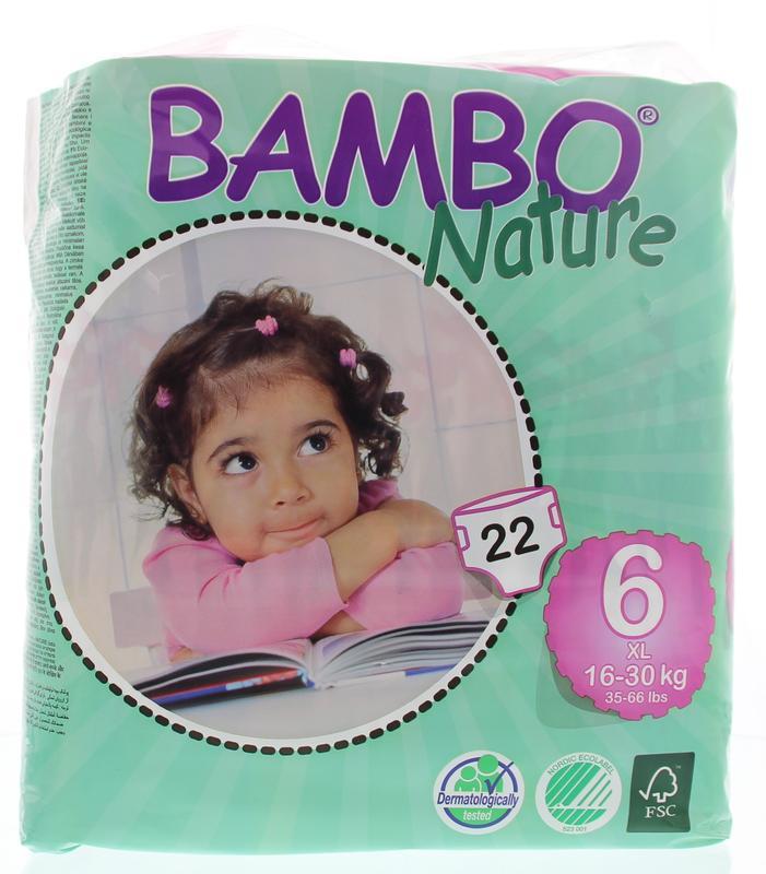 Bambo Nature XL 6 22stuks