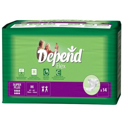 Depend Flex Super Plus Medium