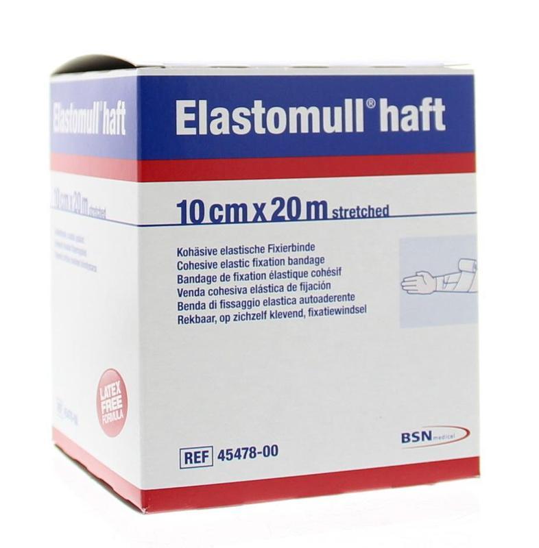 Afbeelding van Elastomull 20m X 10cm 45478 (1st)