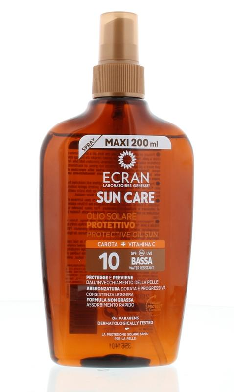 Ecran Sun Oil Carrot Spf 10 Spray