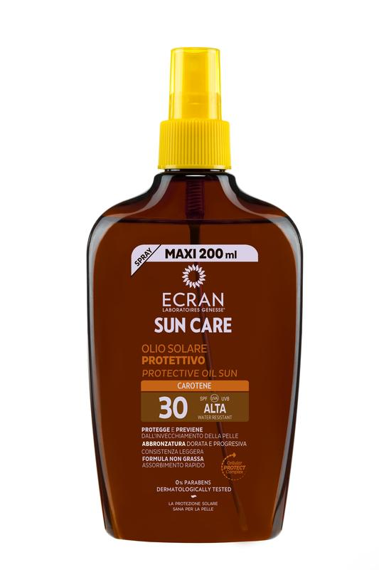 Ecran Sun Oil Carrot Spf 30 Spray