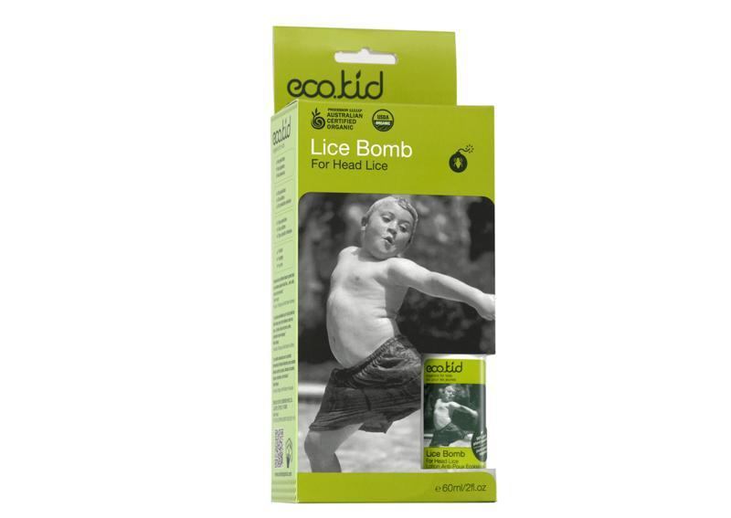 Afbeelding van Ecokid Lice Bomb Hoofdluisbestrijding 60ml