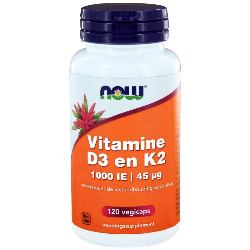 Now Vitamine D3 1000Ie & Vitamine K2