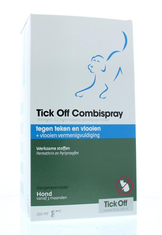 Exil Tick Off Combispray Hond
