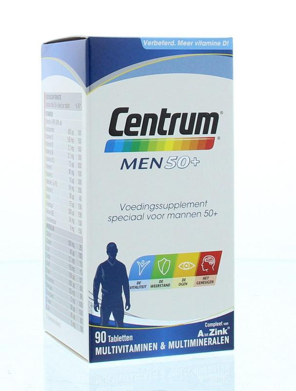 Afbeelding van Centrum Men 50+ Advanced 90tb