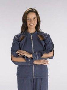 Ronwear Classic Jacket Blauw Vrouw Maat Xl