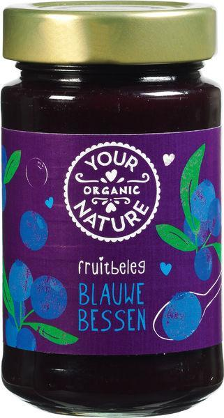 Your Organic Nat Fruitbeleg Blauwe Bessen