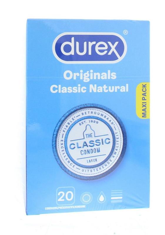 Afbeelding van Durex Condoom Natural
