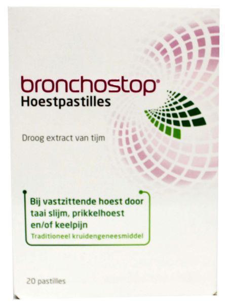 Bronchostop hoestpastille