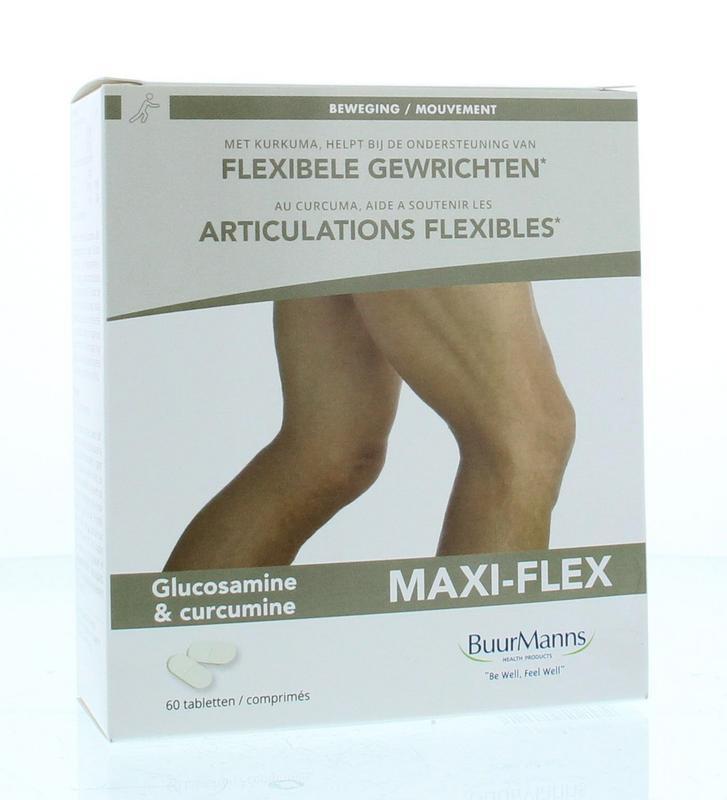 Afbeelding van Buurmanns Maxi Flex Tabletten