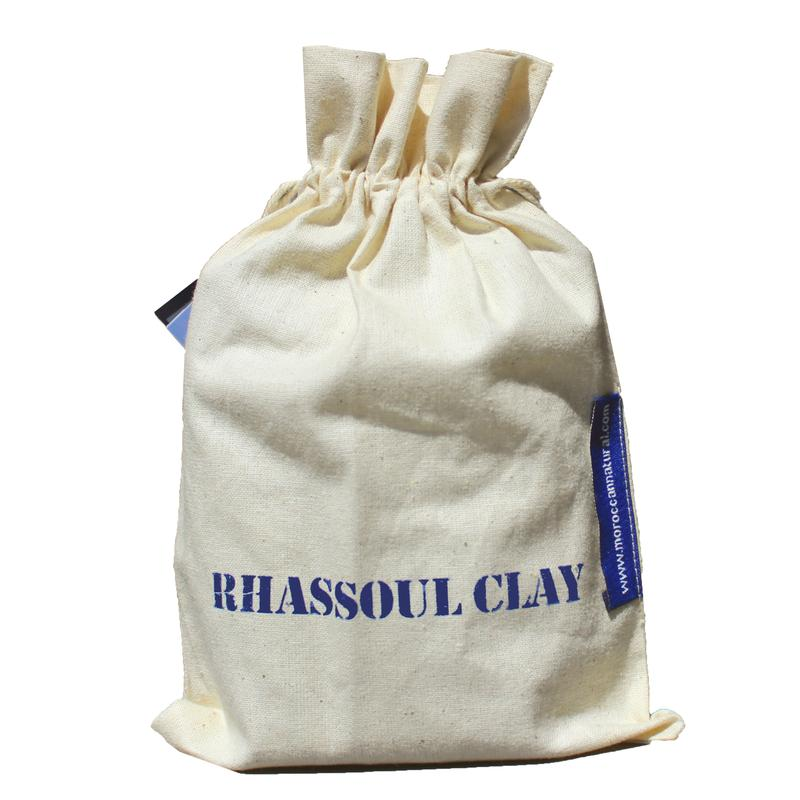 Moroccan Natural Rhassoul Clay Sachets 4X 50 Gram