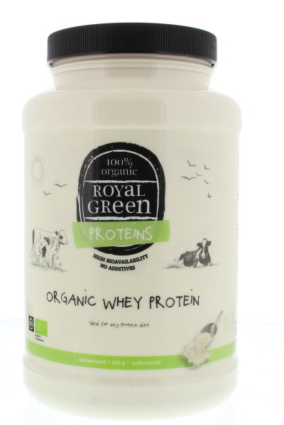 Royal Green Organic Whey Protein Bio