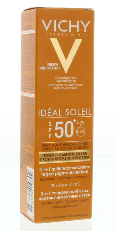Vichy Capital Soleil 3 In 1 Angi Pigment F50+
