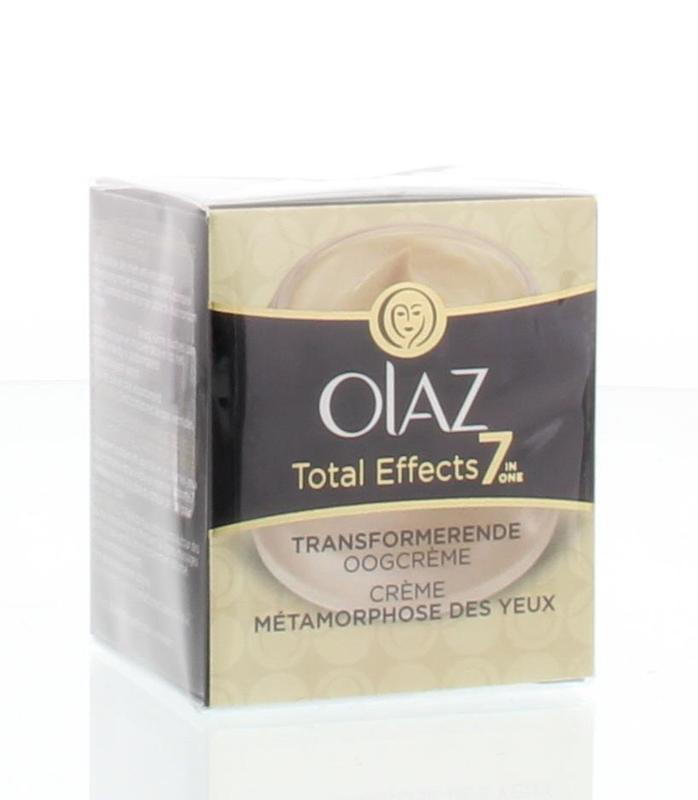 Olaz Total Effect Transformerende Oogcreme