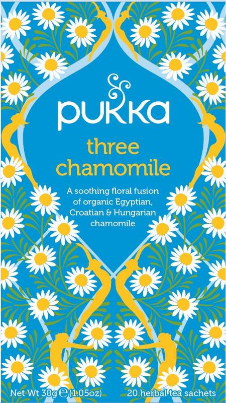 Pukka Org. Teas Three Chamomile