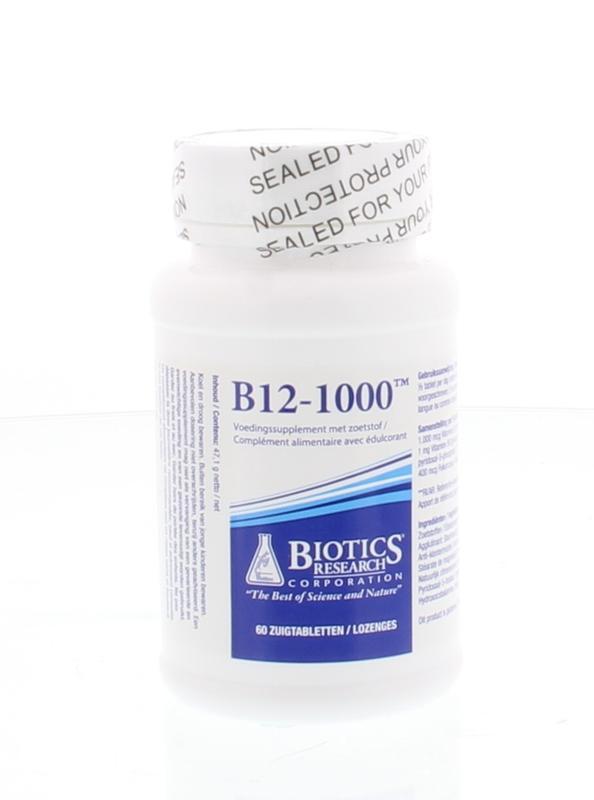 Afbeelding van Biotics B12 1000 Zuigtabletten