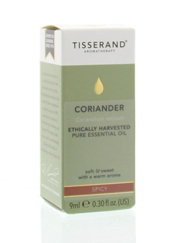 Tisserand Coriander Ethically Harvested