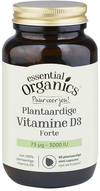 Afbeelding van Essential Organ D3 Plantaardige 75 Mcg Puur 60vc
