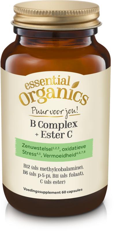 Afbeelding van Essential Organ B complex + Ester C Puur 60vc